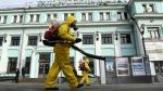 रशियात एकाच दिवसात ४० हजार करोनाबाधित