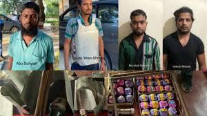 लष्कर-ए-तोयबाच्या  तीन दहशतवाद्यांना  जम्मूत अटक